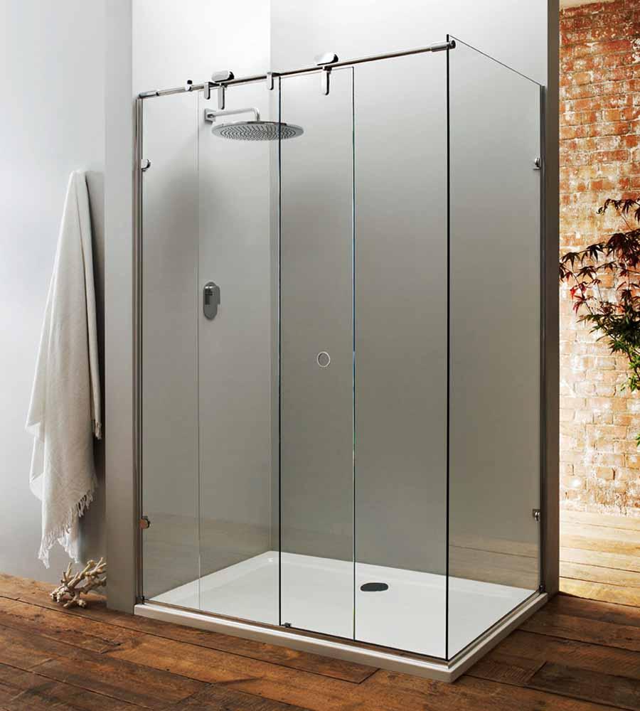 Frameless glass interior doors - Shower Doors Michigan Glass