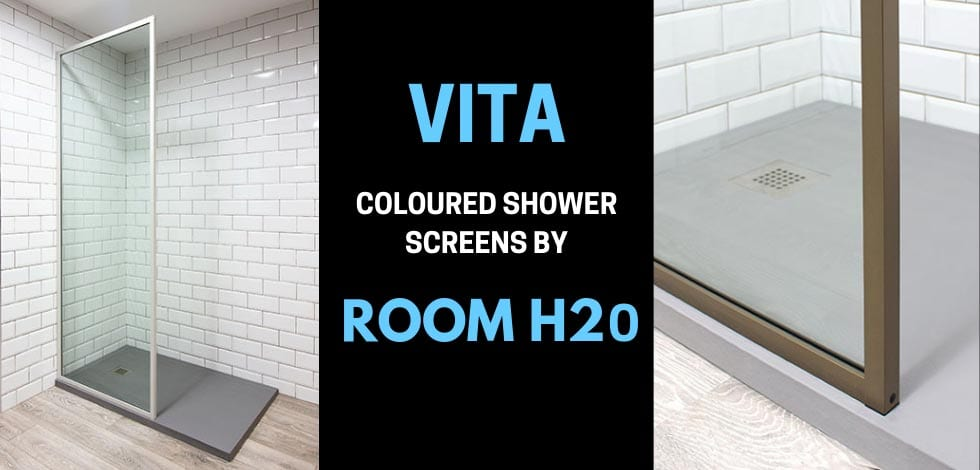 New Vita Coloured Shower Screens by Room H2o