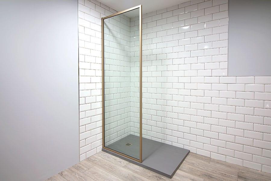 New Inspirit Vita Beige Shower Screen by Room H2o