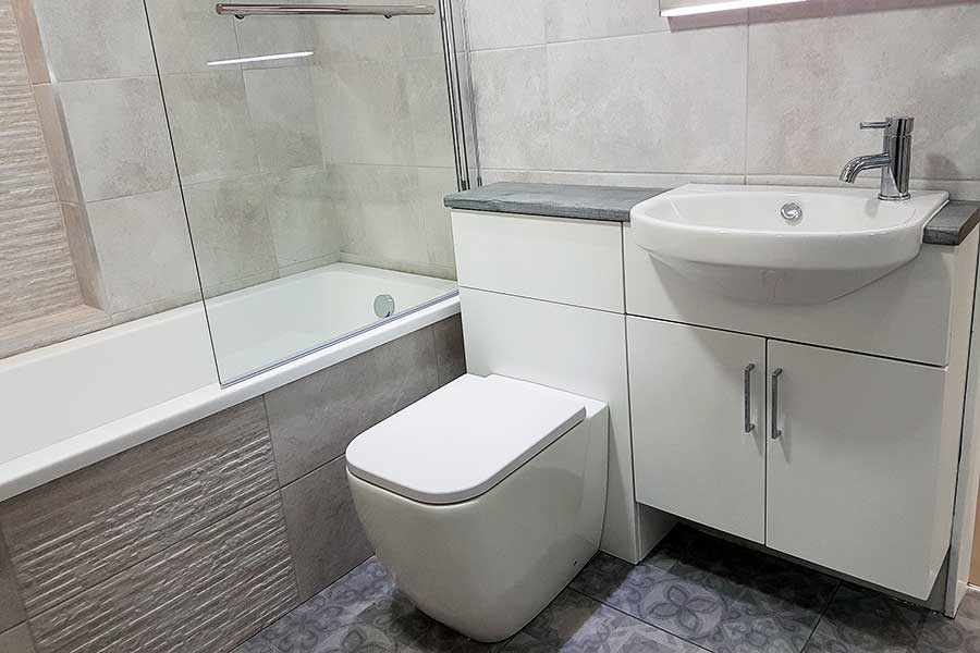 Pura Signature Showroom bathroom suite