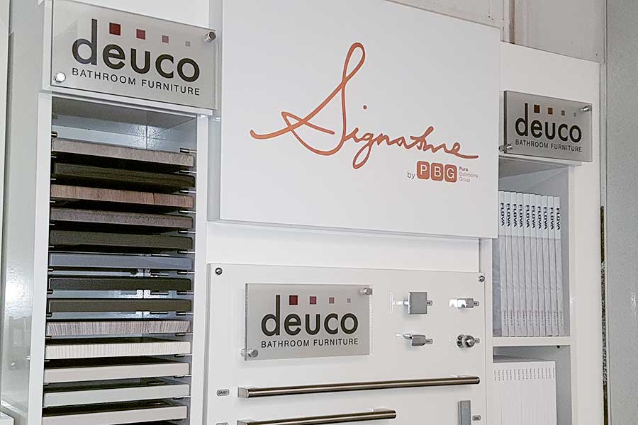 Deuco worktops and cabinets selection