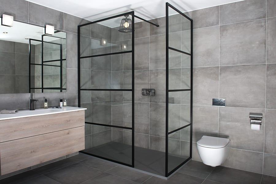 Custom Made Black Amp Coloured Shower Doors Amp Screens