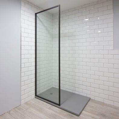 Inspirit brown shower screen
