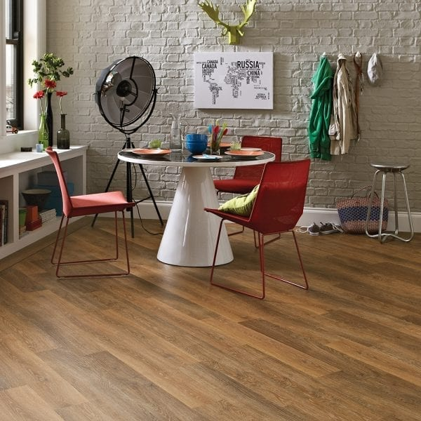Karndean Knight Tile pale classic limed oak effect vinyl plank flooring
