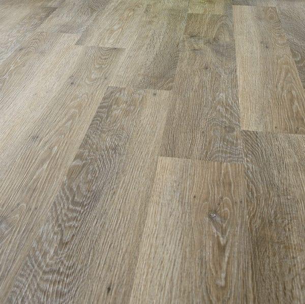 Surface detail image of Karndean Knight Tile Limewashed Oak wood effect flooring