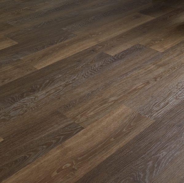 Karndean Knight Tile pale mid limed oak effect vinyl plank flooring surface detail