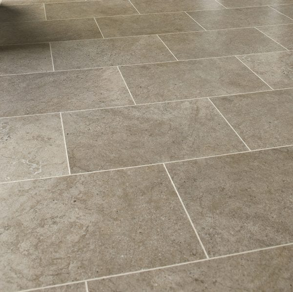 Karndean Knight Tile Portland Stone effect vinyl floor tiles