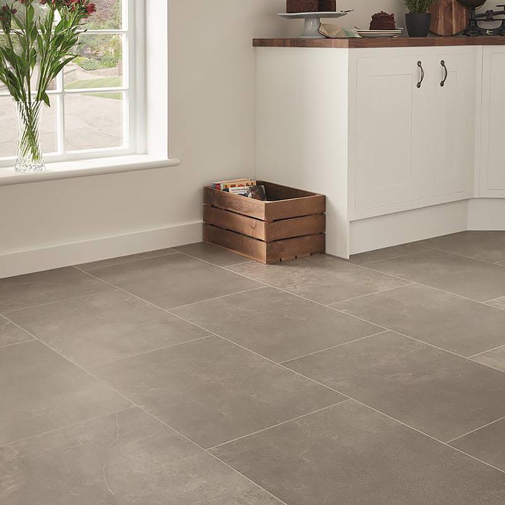 Karndean Opus Fumo Sp216 Stone Effect Vinyl Floor Tiles Room H2o