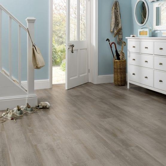 Karndean Magma wood effect vinyl plank flooring
