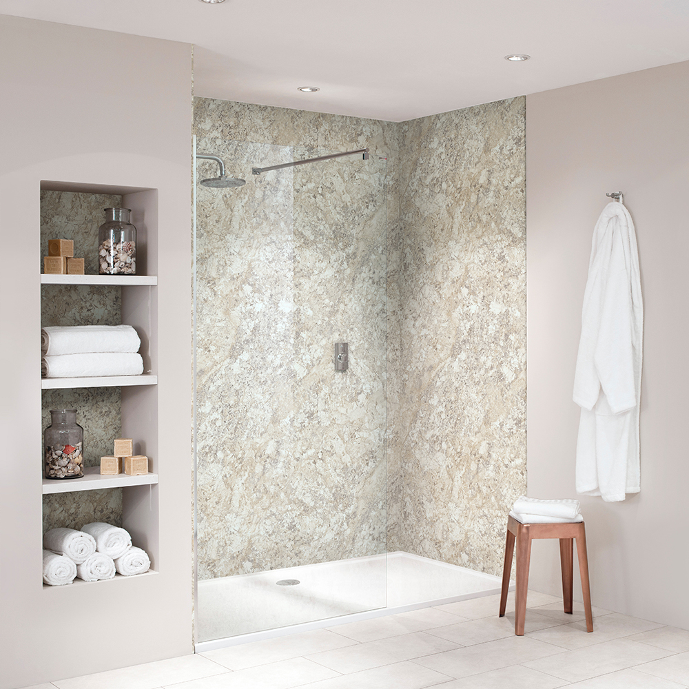bb nuance soft mazzarino bathroom  shower wall boards