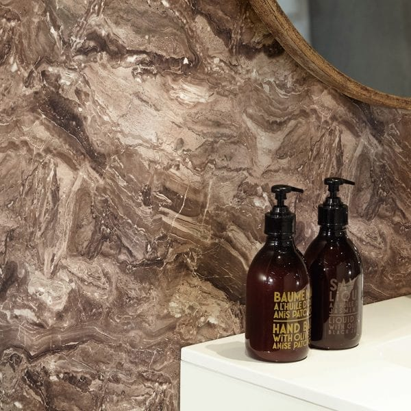 BB Nuance Terracotta Paladina rich beige stone effect bathroom wall boards