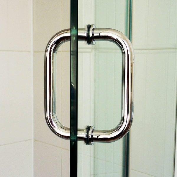 Room H2o frameless shower door D handle