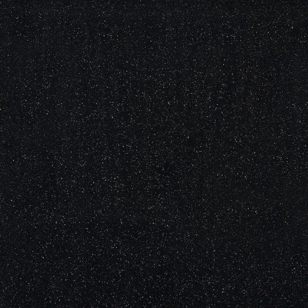Black quartz stone effect Bushboard wet wall cladding for bathrooms and showers