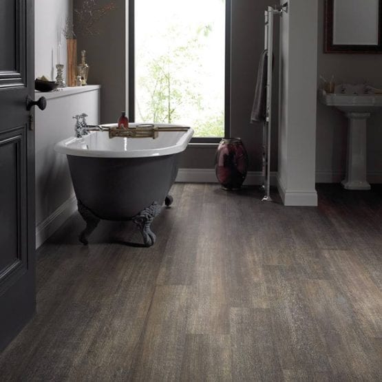 Karndean brushed oak effect vinyl flooring