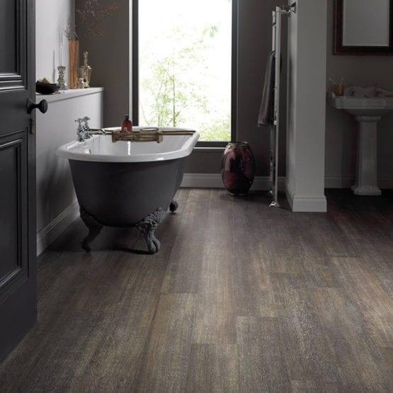 Karndean brushed oak effect vinyl flooring