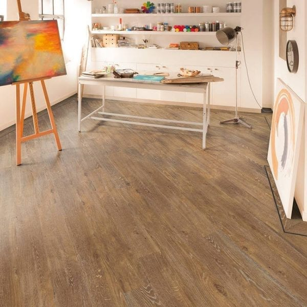 Karndean Van Gogh Hessian Oak plank vinyl flooring
