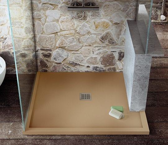 Bespoke Fiora Silex fusion shower tray