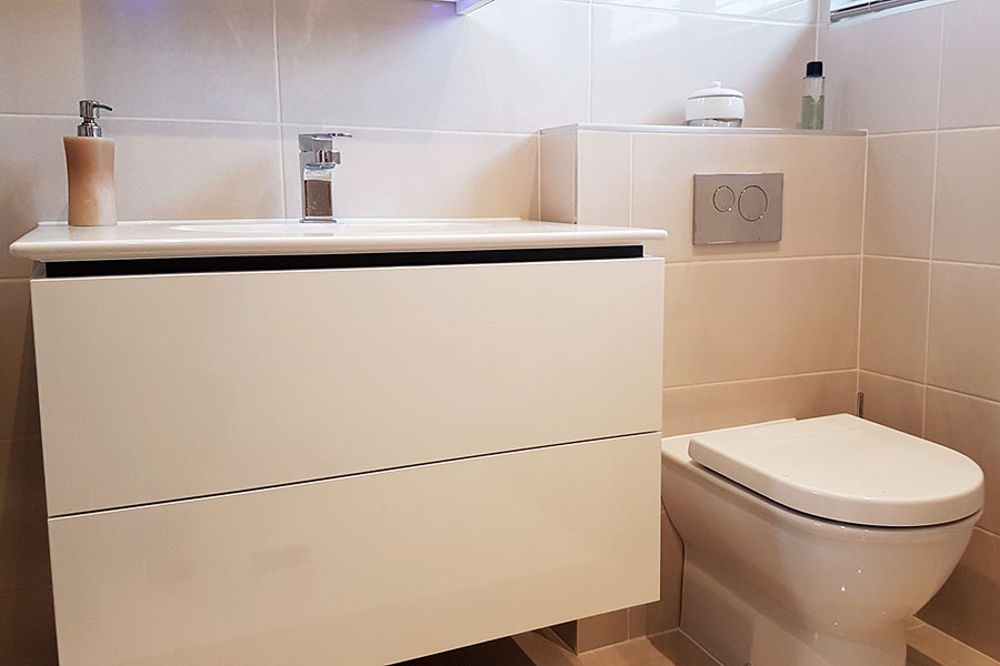 Vanity furniture and basin unit by Duravit
