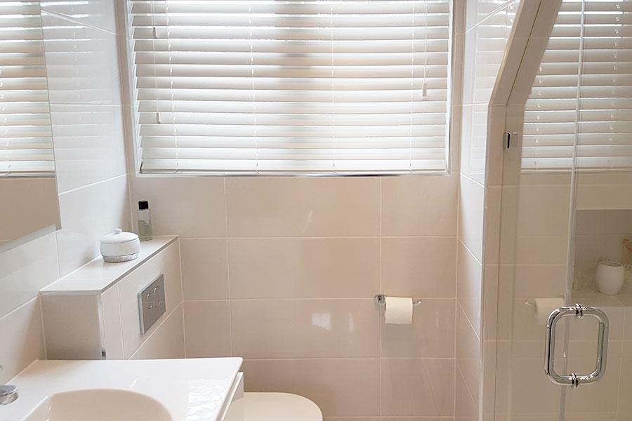 Semi frameless shower enclosure in Weymouth