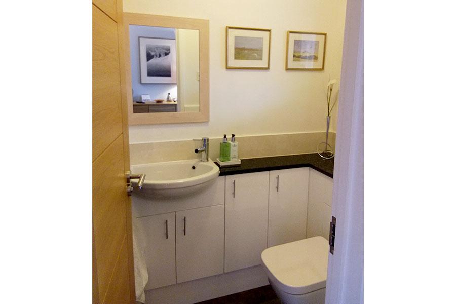 New cloakroom in Wareham Dorset