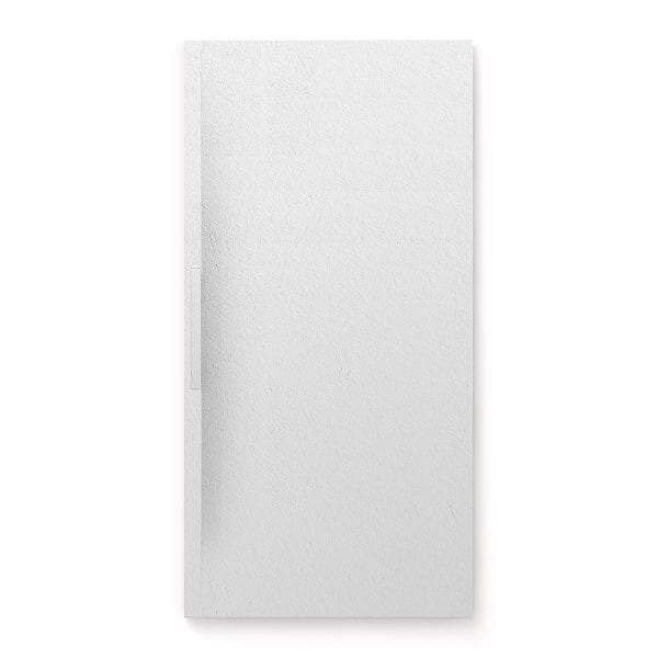 Fiora Trace shower tray in Blanco Total white colour