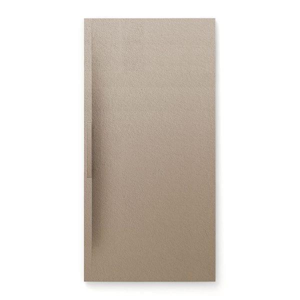 Fiora Trace shower tray in Cappuccino colour