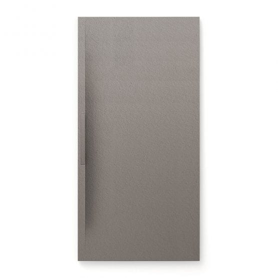 Fiora Trace shower tray in Cenere grey colour