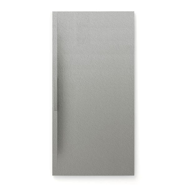 Fiora Trace shower tray in Gris grey colour