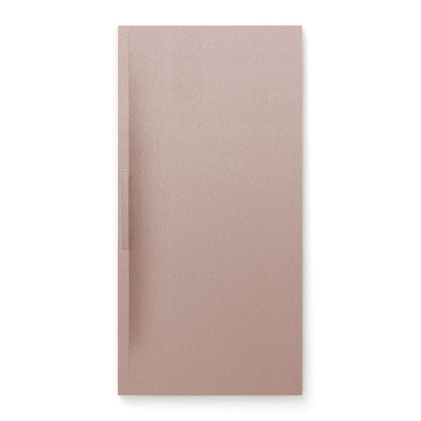 Fiora Trace shower tray in Nude colour