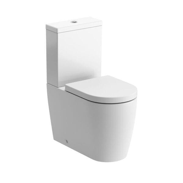 Cilantro Rimless C/C Fully Shrouded WC & Soft Close SeatDIPTP0154