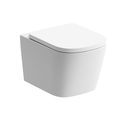 Tilia Rimless Wall Hung WC & Soft Close Seat DIPTP0178