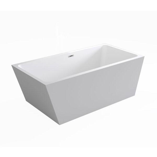 Deep freestanding Hoxton bath tub by Bathrooms to Love