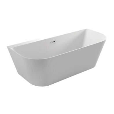 Freestanding Linton Bath tub with 3 curved sides