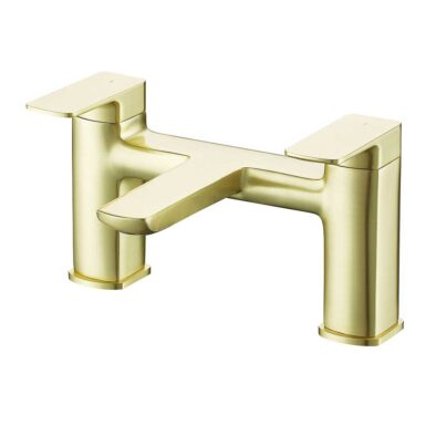 Finissimo brushed brass bath mixer tap DITB1088