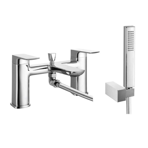 Finissimo Bath Shower Mixer and Shower kit in chrome