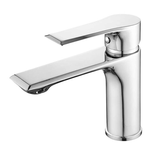 Aqado Basin Mixer Tap in Chrome