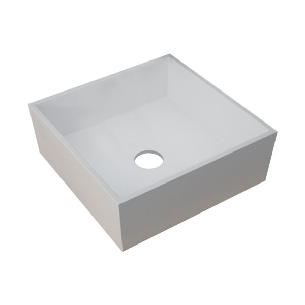 Sabina 426mm Square Resin Basin