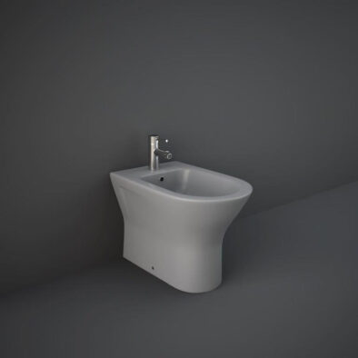 RAK Feeling back to wall bidet in grey