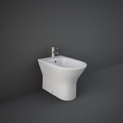 RAK Feeling back to wall bidet in mat white