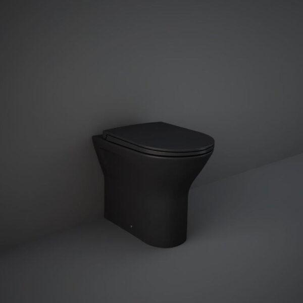 RAK Feeling back to wall toilet in matt black