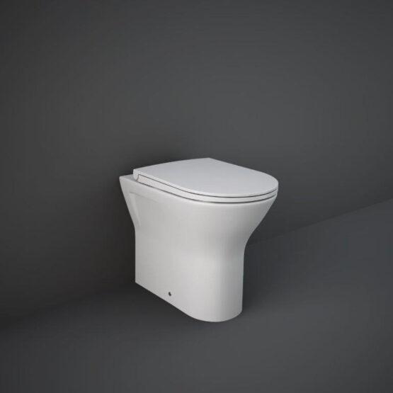 RAK Feeling back to wall WC pan in matt white