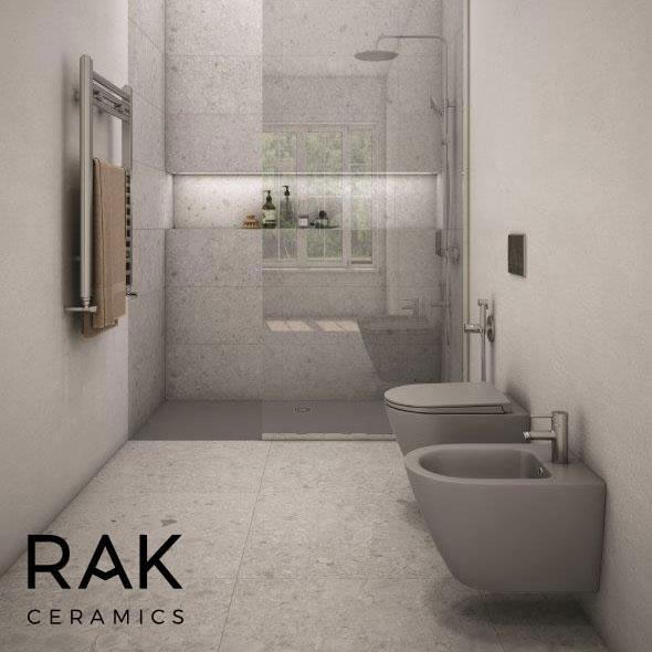 RAK Feeling wall hung WC pan and bidet