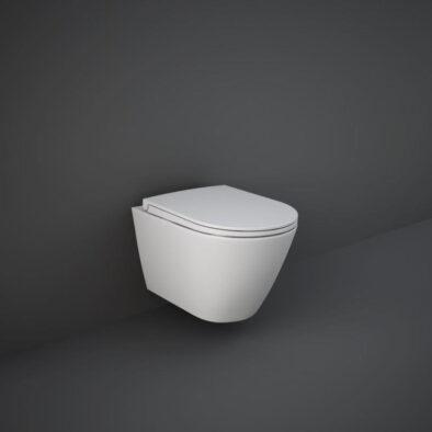 RAK Feeling wall hung toilet in matt white