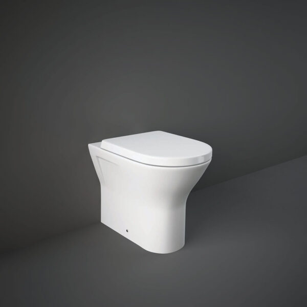 RAK Resort comfort height WC pan back to wall