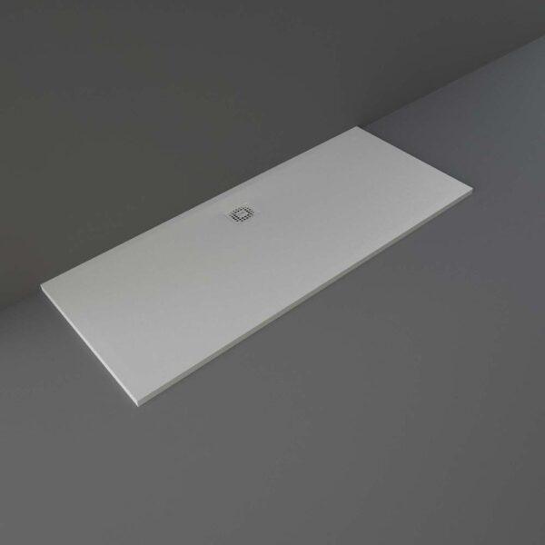 Greige RAK Feeling shower tray 1700x700mm