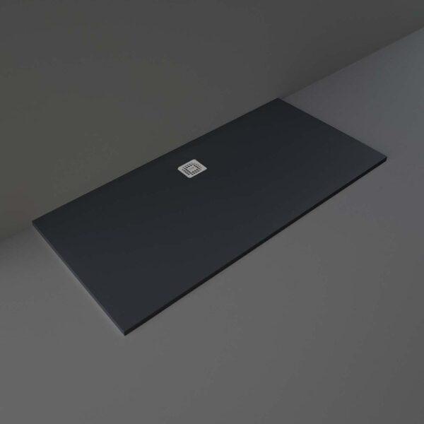 Black RAK Feeling shower tray 1700x800mm