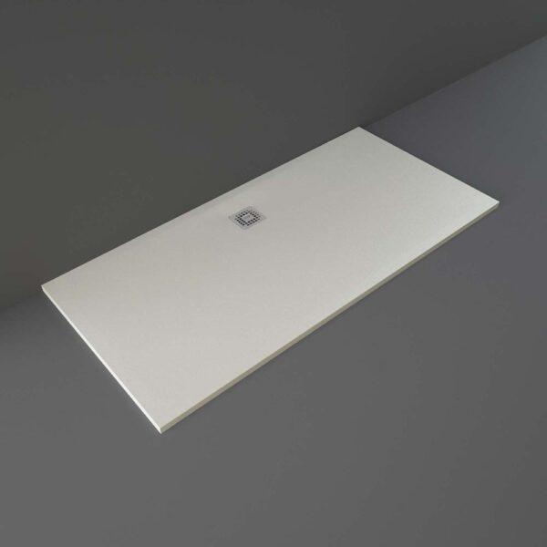 Greige RAK Feeling shower tray 1700x800mm