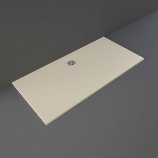 Cappuccino RAK Feeling shower tray 1700x800mm