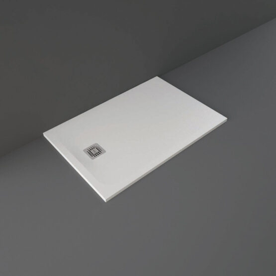 White RAK Feeling shower tray 1200x800mm