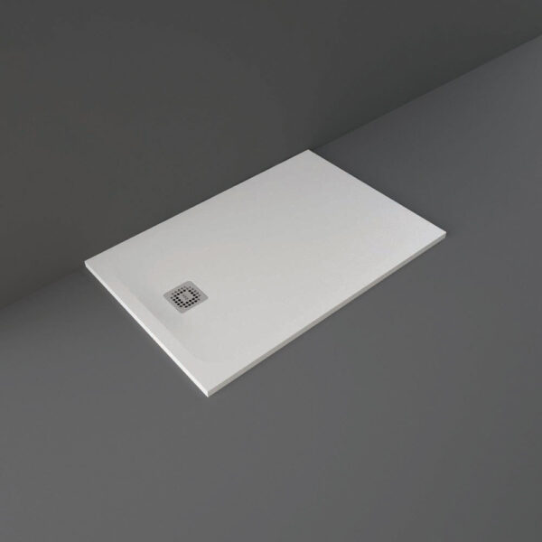White RAK Feeling shower tray 1200x800mm